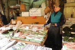 Vânzător de pește