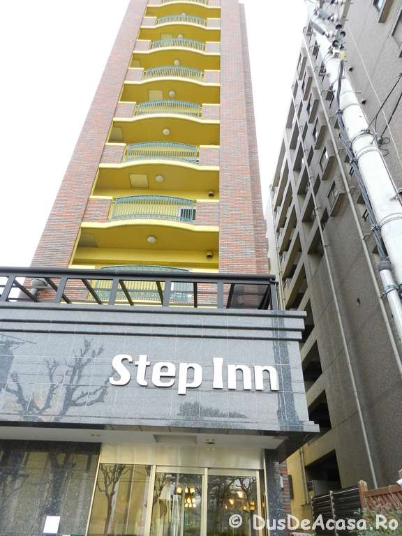 Step Inn Shin-Osaka Higashiguchi Hotel