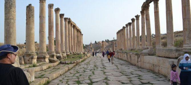 Pe străzile din Jerash – un oraș greco-roman (5)